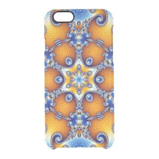 Ocean Life Mandala Clear iPhone 6/6S Case
