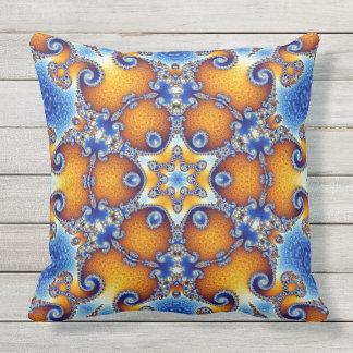 Ocean Life Mandala Cushion