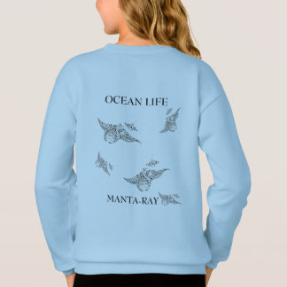 OCEAN LIFE manta-ray spirit Sweatshirt