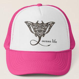 ocean life Manta Ray Trucker Hat