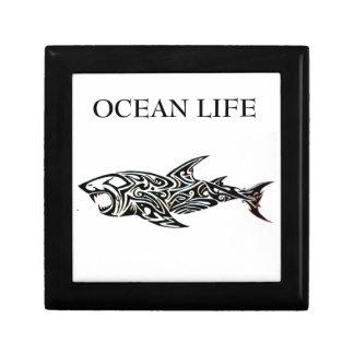 ocean life shark gift box