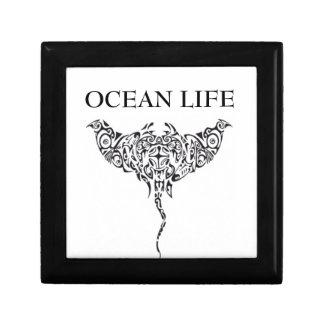 ocean life stingray gift box