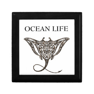 ocean life stingray gift box
