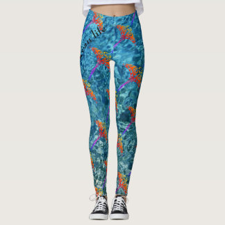 OCEAN LIFE  stingray Leggings