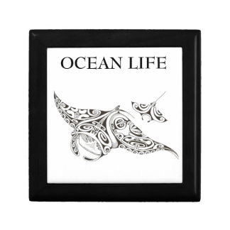 ocean life twin rays gift box