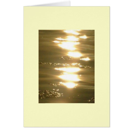 Ocean Light Card