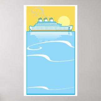 Ocean Liner #1 Poster