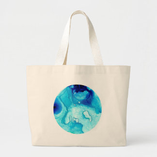 Ocean Luna # Large Tote Bag