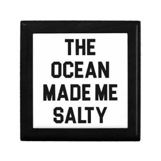 Ocean Made Me Salty Gift Box