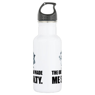 Ocean Made Me Salty Shark 532 Ml Water Bottle
