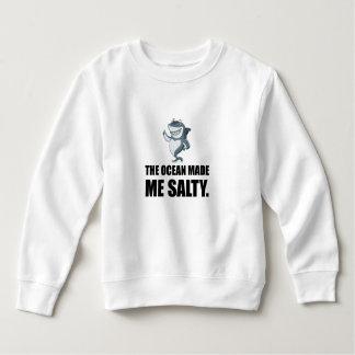 Ocean Made Me Salty Shark Sweatshirt