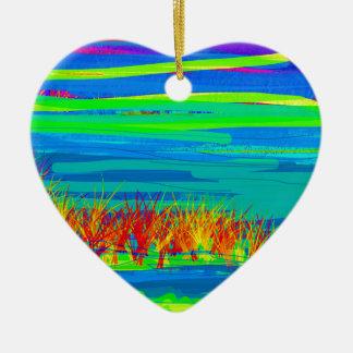 ocean may 31red.jpg ceramic heart decoration