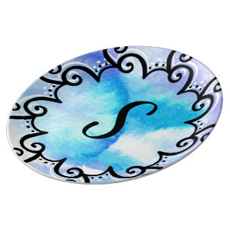 Ocean Medallion Plate