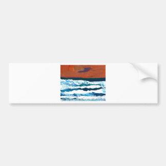Ocean of My Soul Ocean Waves Sea Decor Bumper Sticker