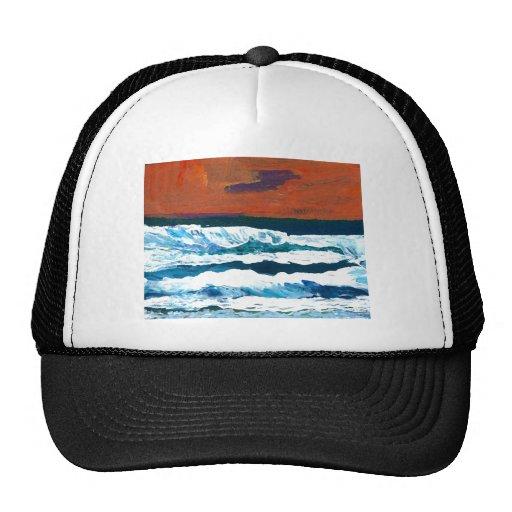 Ocean of My Soul Ocean Waves Sea Decor Trucker Hat