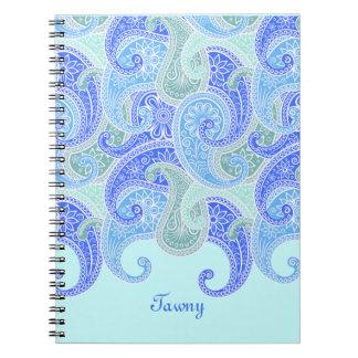 Ocean of Paisley Notebook