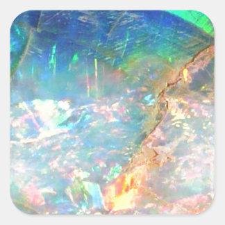 Ocean Opal Square Sticker
