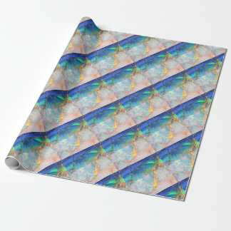 Ocean Opal Wrapping Paper
