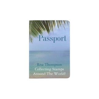 Ocean Palm   Passport Holder
