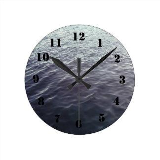 Ocean Pattern Wall Clock