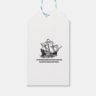 ocean quote in the sea gift tags