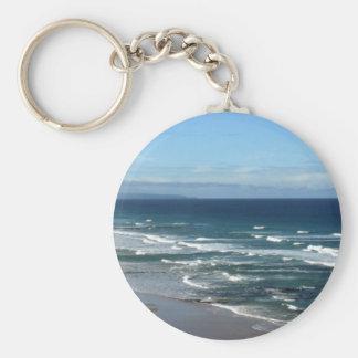 Ocean Scene Key Ring