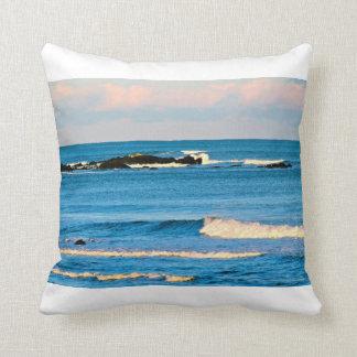 Ocean Scene Throw Pillow