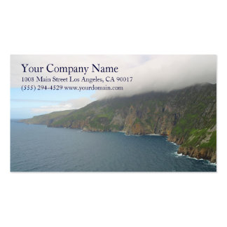 Ocean Sea Waves Rocky Coast Shore Shoreline Cliffs Pack Of Standard Business Cards