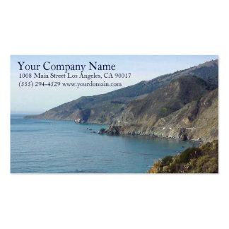 Ocean Sea Waves Rocky Coast Shore Shoreline Cliffs Pack Of Standard Business Cards