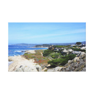 Ocean Sky Meditation View at Carmel-By-The-Sea Canvas Print