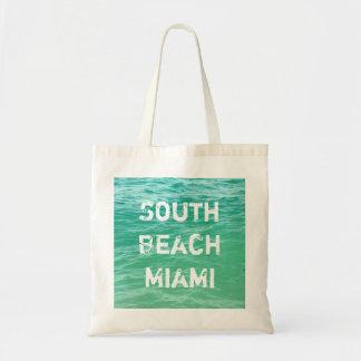 Ocean, South Beach Miami Tote Bag