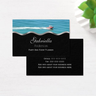 Ocean Speed Boat Business Cards