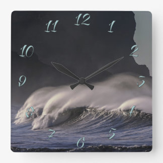 Ocean Square Wall Clock
