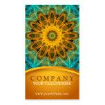 Ocean Star Mandala 2 Pack Of Standard Business Cards