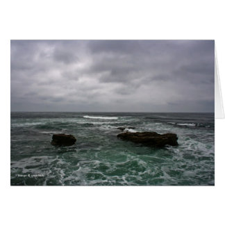 Ocean Storm Card