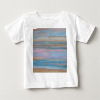 Ocean Summer Breeze Sunset Soft Pastels Baby T-Shirt