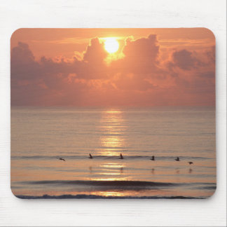 Ocean Sunrise Daytona Beach, Florida Mousepad