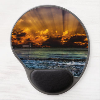 Ocean Sunrise Gel Mouse Pads