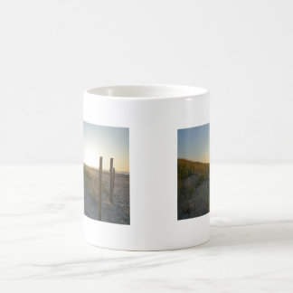 Ocean Sunrse, Dawn Dunes Coffee Mug