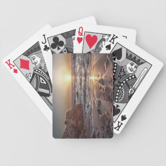 Ocean Sunset 2 Bicycle Playing Cards