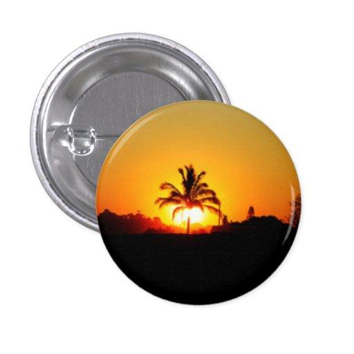 Ocean Sunset Buttons