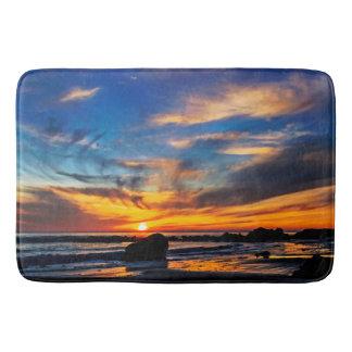 Ocean Sunset Bath Mat