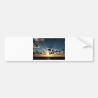 Ocean Sunset Bumper Sticker