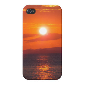 Ocean Sunset Cover For iPhone 4