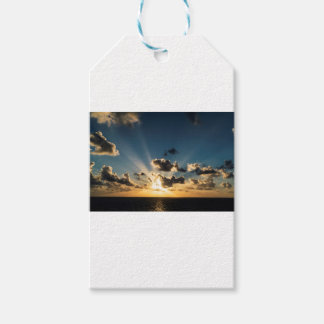 Ocean Sunset Gift Tags