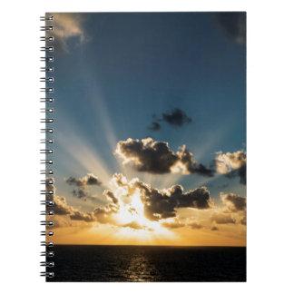 Ocean Sunset Notebooks