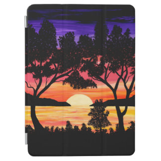 Ocean Sunset Painting ipad cover