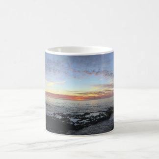 Ocean Sunset Pano Mug