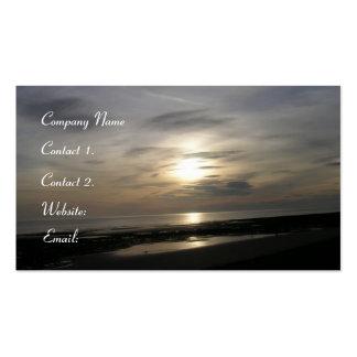 Ocean Sunset-Seascape Pack Of Standard Business Cards