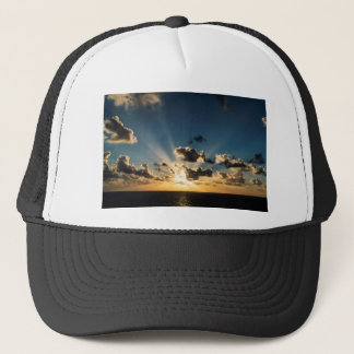 Ocean Sunset Trucker Hat